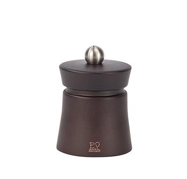 Peugeot Baya Tuz Değirmeni 8 Cm Çikolata Ahşap Kahve